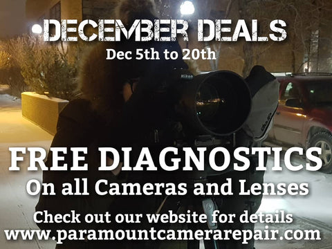 December Free diagnostics paramount camera repair saskatoon canada