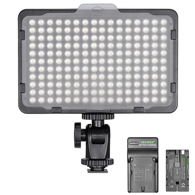 Wireless 176 LED Video Light - Dimmable, Lithium Powered or AC adapter, Cordless, - Paramount Camera & Repair - Saskatoon Canada Used Cameras Used Lenses Batteries Grips Chargers Studio