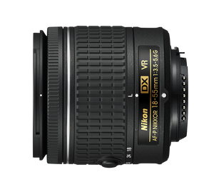 AF-P DX NIKKOR 18-55mm f/3.5-5.6G VR - New Condition 10/10 - Paramount Camera & Repair - Saskatoon Canada Used Cameras Used Lenses Batteries Grips Chargers Studio