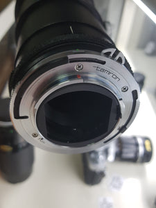 Tamron Adaptall 200-500mm f/5.6 Telephoto For Nikon - Used Condition 10/10 - Paramount Camera & Repair - Saskatoon Canada Used Cameras Used Lenses Batteries Grips Chargers Studio