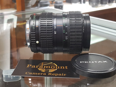 Pentax A SMC 28-80mm F3.5-4.5 Zoom, Manual film lens, Excellent Condition - Paramount Camera & Repair - Saskatoon Canada Used Cameras Used Lenses Batteries Grips Chargers Studio