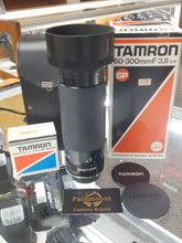 Load image into Gallery viewer, Tamron 60-300mm F3.8-5.4 with Adaptall Nikon Mount Manual Film Lens - Used Condition 9.5/10 - Paramount Camera & Repair - Saskatoon Canada Used Cameras Used Lenses Batteries Grips Chargers Studio