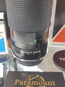 Tamron 60-300mm F3.8-5.4 with Adaptall Nikon Mount Manual Film Lens - Used Condition 9.5/10 - Paramount Camera & Repair - Saskatoon Canada Used Cameras Used Lenses Batteries Grips Chargers Studio