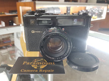 Load image into Gallery viewer, YASHICA ELECTRO 35 Gtn w/ YASHINON-DX 45mm F/1.7, 35mm SLR Film Camera, CLA'd - Paramount Camera & Repair - Saskatoon Canada Used Cameras Used Lenses Batteries Grips Chargers Studio