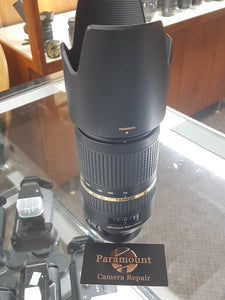 Tamron AF 70-300mm f/4.0-5.6 SP Di VC USD Lens for Nikon - Like New - Paramount Camera & Repair - Saskatoon Canada Used Cameras Used Lenses Batteries Grips Chargers Studio