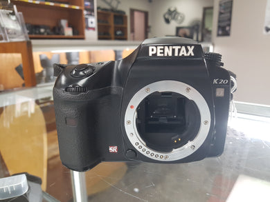 Pentax K20 D DSLR 14.6MP Digital Camera, Cleaned, Inspected and 90 Days Warranty - Paramount Camera & Repair - Saskatoon Canada Used Cameras Used Lenses Batteries Grips Chargers Studio