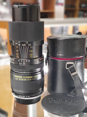 Tamron SP 90mm F2.5 Macro Lens for Pentax K mount w/ Tamron 1:1 Adapter - Paramount Camera & Repair - Saskatoon Canada Used Cameras Used Lenses Batteries Grips Chargers Studio