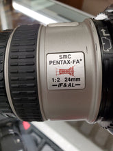 Load image into Gallery viewer, Pentax FA 24mm F2 IF & AL Wideangle Lens and Hood For Pentax K Mount, Rare - Paramount Camera & Repair - Saskatoon Canada Used Cameras Used Lenses Batteries Grips Chargers Studio