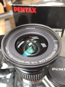 Pentax DA 12-24mm f/4 ED AL (IF) Lens in excellent condition, Cleaned, Warranty - Paramount Camera & Repair - Saskatoon Canada Used Cameras Used Lenses Batteries Grips Chargers Studio