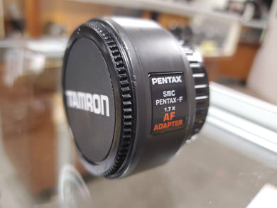 Pentax SMC F 1.7x AF Teleconverter in excellent condition, Cleaned, 90 Days Warranty - Paramount Camera & Repair - Saskatoon Canada Used Cameras Used Lenses Batteries Grips Chargers Studio