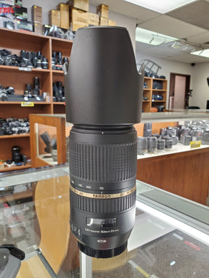 Tamron AF 70-300mm f/4.0-5.6 SP Di VC USD Lens for Canon - Like New - Paramount Camera & Repair - Saskatoon Canada Used Cameras Used Lenses Batteries Grips Chargers Studio