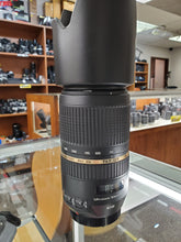 Load image into Gallery viewer, Tamron AF 70-300mm f/4.0-5.6 SP Di VC USD Lens for Canon - Like New - Paramount Camera & Repair - Saskatoon Canada Used Cameras Used Lenses Batteries Grips Chargers Studio