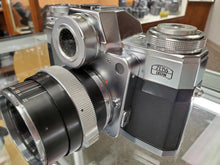 Load image into Gallery viewer, *Rare* Zeiss Ikon Contarex Bullseye w/Carl Zeiss Planar 1:2 f=50mm lens, CLA'd, Warranty - Paramount Camera & Repair - Saskatoon Canada Used Cameras Used Lenses Batteries Grips Chargers Studio