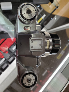 *Rare* Zeiss Ikon Contarex Bullseye w/Carl Zeiss Planar 1:2 f=50mm lens, CLA'd, Warranty - Paramount Camera & Repair - Saskatoon Canada Used Cameras Used Lenses Batteries Grips Chargers Studio