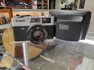 Canon Canonet QL19, 35mm camera, CLA'd, light seals, RF Calibrated, Ex Condition - Paramount Camera & Repair - Saskatoon Canada Used Cameras Used Lenses Batteries Grips Chargers Studio