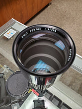 Load image into Gallery viewer, Pentax SMC 300mm F4 Lens and Hood For Pentax K Mount, Rare - Paramount Camera & Repair