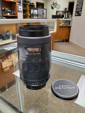 Pentax SMC F 80-200mm F4.7-5.6, Auto Focus AF lens - Paramount Camera & Repair - Saskatoon Canada Used Cameras Used Lenses Batteries Grips Chargers Studio