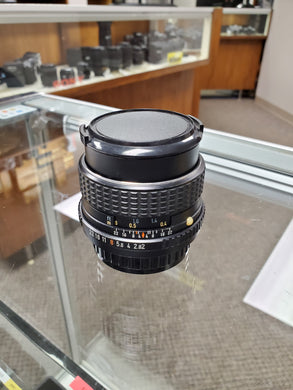 Pentax-M SMC 35mm F2, Manual Lens for Film Cameras - Paramount Camera & Repair - Saskatoon Canada Used Cameras Used Lenses Batteries Grips Chargers Studio