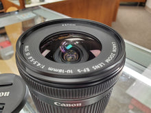 Load image into Gallery viewer, Canon EF-S 10-18mm f/4.5-5.6 IS STM Lens, like new condition - 10/10 - Paramount Camera & Repair - Saskatoon Canada Used Cameras Used Lenses Batteries Grips Chargers Studio