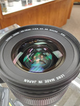 Load image into Gallery viewer, Sigma 24-70mm f/2.8 EX DG Macro AF - Full Frame - Lens for Nikon - Used Condition 7/10 - Paramount Camera & Repair - Saskatoon Canada Used Cameras Used Lenses Batteries Grips Chargers Studio