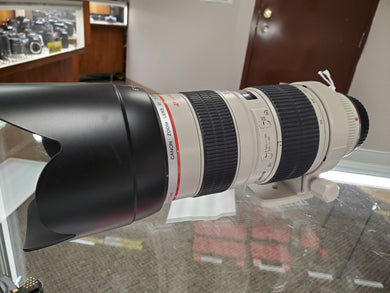 Canon 70-200mm 2.8L USM lens - Pro Full Frame Telephoto - Used Condition 8/10 - Paramount Camera & Repair