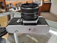 Load image into Gallery viewer, Asahi Pentax Spotmatic F, w/ Takumar 55mm 1.8 lens, Both Professionally CLA'd, Canada - Paramount Camera & Repair - Saskatoon Canada Used Cameras Used Lenses Batteries Grips Chargers Studio