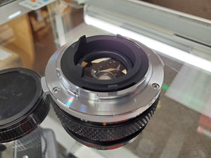 Olympus 50mm 1.8 , Manual film lens, Excellent Condition, cleaned - Paramount Camera & Repair - Saskatoon Canada Used Cameras Used Lenses Batteries Grips Chargers Studio