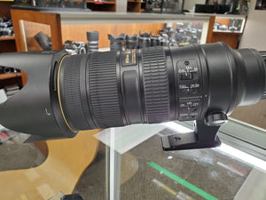 Professional Nikon 70-200mm f/2.8G VR II Lens - Used Condition 9/10 - Paramount Camera & Repair - Saskatoon Canada Used Cameras Used Lenses Batteries Grips Chargers Studio