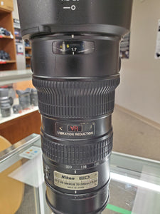 Nikon AF-S 70-200mm f/2.8G VR IF-ED Lens - Used Condition 8.5/10 - Paramount Camera & Repair - Saskatoon Canada Used Cameras Used Lenses Batteries Grips Chargers Studio