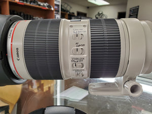 Canon 70-200mm 2.8L IS II USM lens - Pro Full Frame Telephoto - Used Condition 10/10 - Paramount Camera & Repair - Saskatoon Canada Used Cameras Used Lenses Batteries Grips Chargers Studio