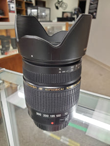 Tamron AF 28-300mm f/3.5-6.3 XR Di LD Aspherical (IF) Macro Lens for Canon - Like New Condition - Paramount Camera & Repair - Saskatoon Canada Used Cameras Used Lenses Batteries Grips Chargers Studio