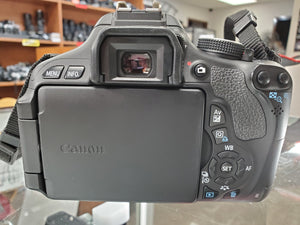 Canon Rebel T3i - 18MP 1080p DSLR with Canon Battery, Strap, Used Condition 9.7/10 - Paramount Camera & Repair