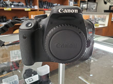 Load image into Gallery viewer, Canon Rebel T3i - 18MP 1080p DSLR with Canon Battery, Strap, Used Condition 9.7/10 - Paramount Camera & Repair