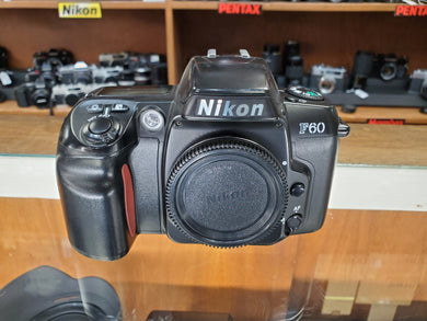 Nikon F60, 35mm AF SLR Film Camera, Professional CLA, Canada