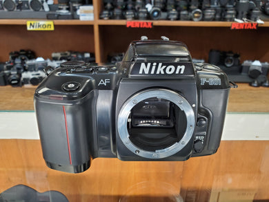 Nikon F-601/N6006, 35mm AF SLR Film Camera, Professional CLA, Canada