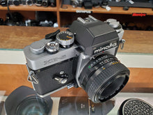 Load image into Gallery viewer, Minolta XE-5, 35mm SLR Film Camera w/ 50m F2 Lens, Professional CLA, Canada