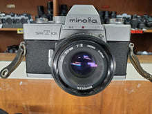 Load image into Gallery viewer, Minolta SRT101 CLC, 35mm SLR Film Camera w/ 50mm F2 Lens, Professional CLA, Canada