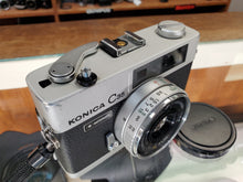 Load image into Gallery viewer, Konica C35 Automatic, 35mm Rangefinder Film Camera w/ 38m F2.8 Lens, Professional CLA, Canada