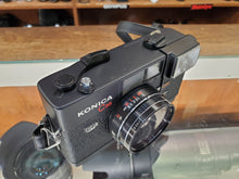 Load image into Gallery viewer, Konica C35 EF, 35mm Rangefinder Film Camera w/ 38m F2.8 Lens, Professional CLA, Canada