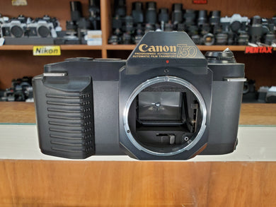 Canon T50, 35mm SLR Film Camera, Professional CLA, Canada