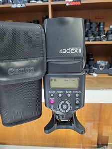 Canon 430EX II Speedlite Flash - Excellent Condition 9/10