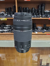 Load image into Gallery viewer, Canon EF 75-300mm f/4.0-5.6 III lens - Used Condition 10/10