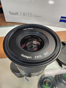 ZEISS TOUIT 12mm 2.8 Lens for Sony E Mount - Used Condition 9.5/10