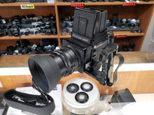 Load image into Gallery viewer, Mamiya RB67 Pro S Medium Format w/Mamiya-Sekor SF C 150mm F4, Viewfinder, FilmBack, CLA'd, New Lightseals