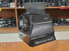 Load image into Gallery viewer, Mamiya CDS Metered Chimney Prism Finder for RB67 Pro S SD, CLA'd, Canada