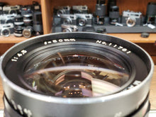 Load image into Gallery viewer, Mamiya-Sekor 50mm f/4.5 Medium Format Lens for RB67 Pro S, CLA'd, Mint, Canada