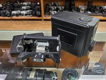 Load image into Gallery viewer, Mamiya 220 Roll Film Back Holder & Slide for 645 Pro TL Super, CLA'd, New Light Seals, Canada