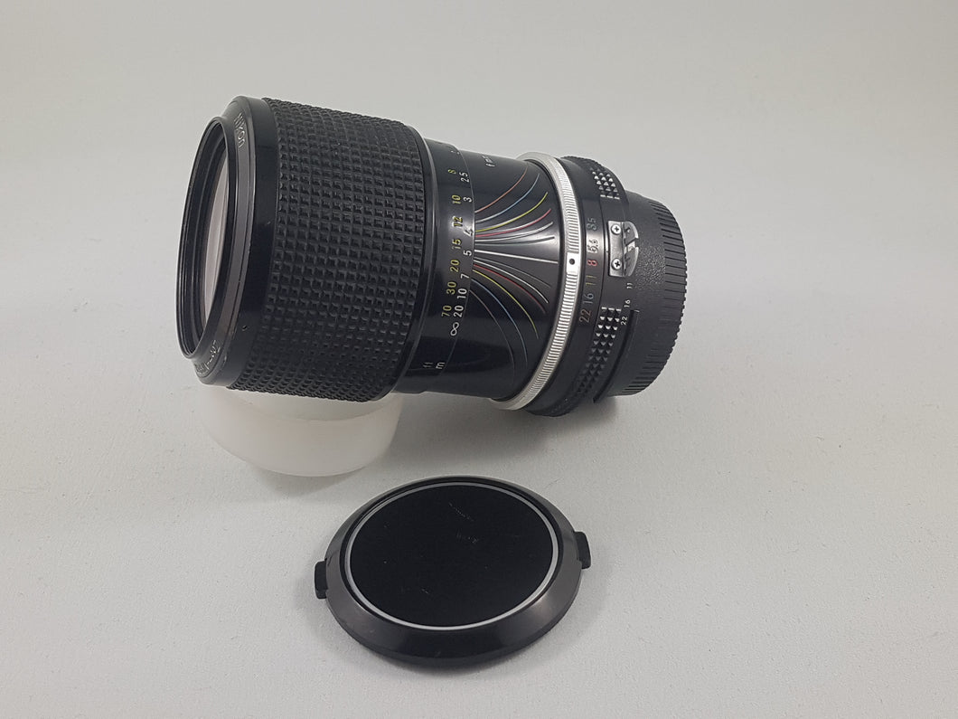 Nikkor 43-86mm f/3.5 AI Nikon Manual Zoom Film Lens - Used Condition 9/10 - Paramount Camera & Repair - Saskatoon Canada Used Cameras Used Lenses Batteries Grips Chargers Studio