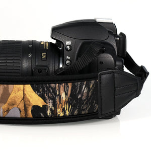 Camo Neoprene Padded Camera Strap - Paramount Camera & Repair
