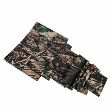 Camo Protective Lens Cover for Canon 600mm f/4L IS - Rubberized Neoprene - Mossy Oak - Paramount Camera & Repair - Saskatoon Canada Used Cameras Used Lenses Batteries Grips Chargers Studio
